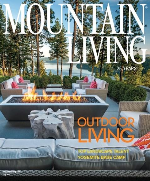 Mountain Living Cover - 7/1/2019
