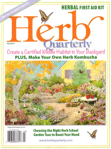 Herb Quarterly Cover - 9/1/2019