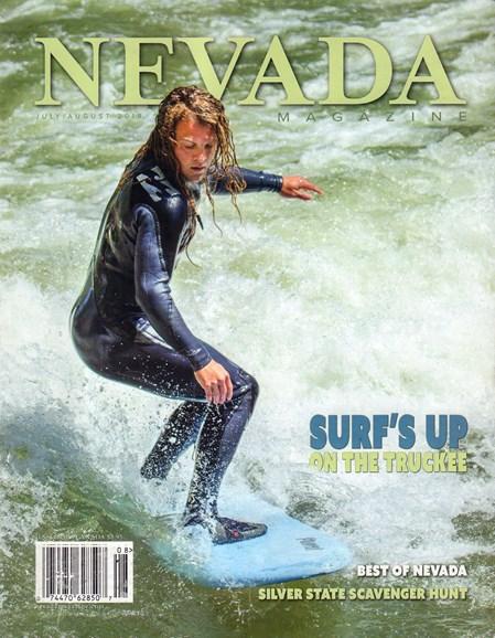 Nevada Magazine Cover - 7/1/2019
