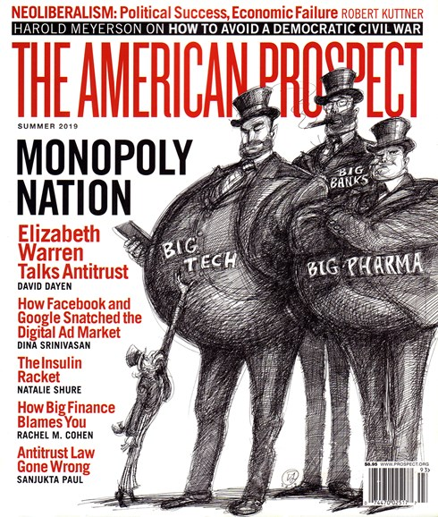 The American Prospect Cover - 6/1/2019