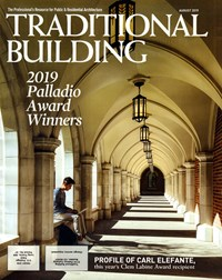 Traditional Building Magazine | 8/1/2019 Cover