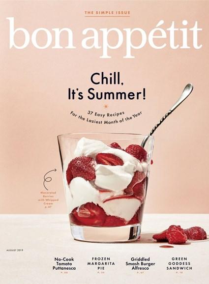 Bon Appétit Cover - 8/1/2019