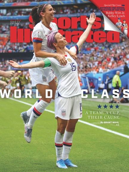 Sports Illustrated Cover - 7/15/2019