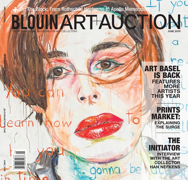 Blouin Art & Auction Cover - 6/1/2019