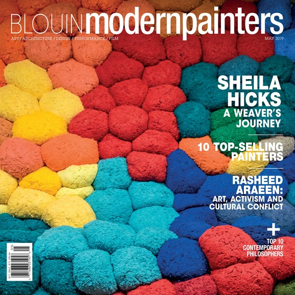 Blouin Modern Painters Cover - 5/1/2019