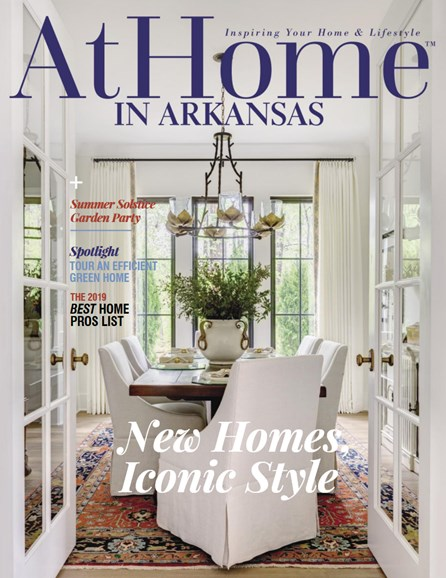 At Home In Arkansas Cover - 6/1/2019