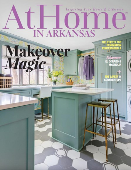 At Home In Arkansas Cover - 5/1/2019
