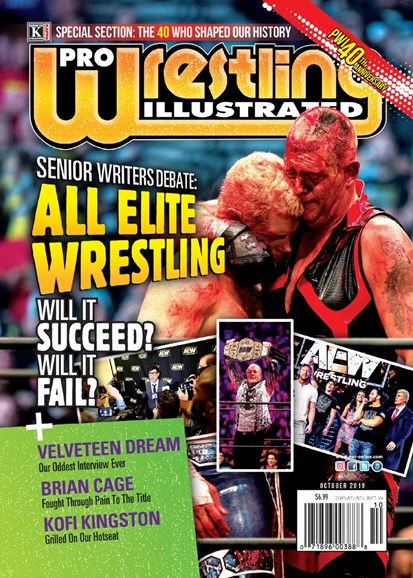 Pro Wrestling Illustrated Cover - 10/1/2019
