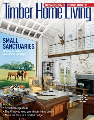 Timber Home Living Magazine | 7/2019 Cover