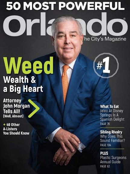 Orlando Magazine Cover - 7/1/2019