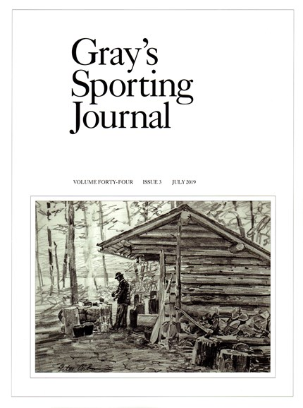 Gray's Sporting Journal Cover - 7/1/2019