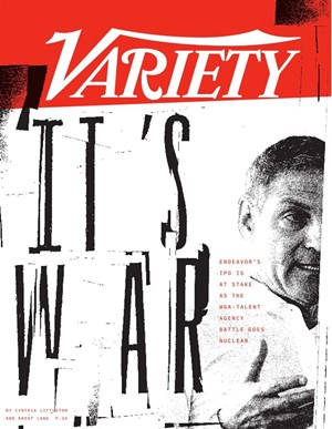 Weekly Variety Magazine   7/9/2019 Cover