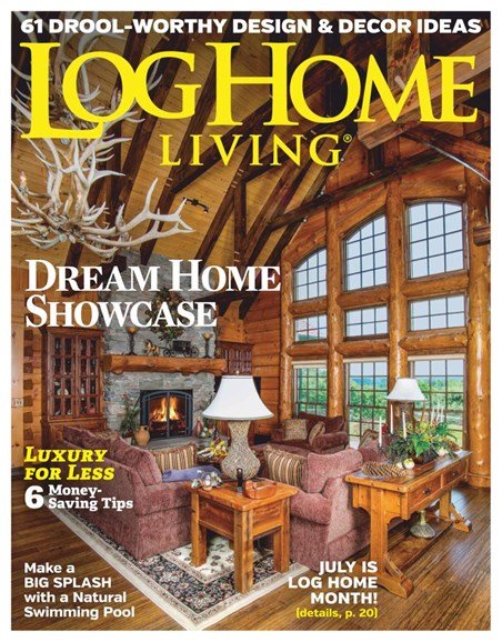 Log Home Living Cover - 6/1/2019