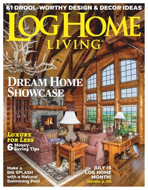 Log Home Living Magazine | 6/2019 Cover