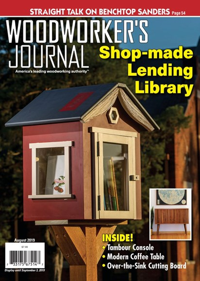 Woodworker's Journal Cover - 8/1/2019