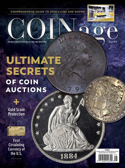 Coinage Cover - 8/1/2019