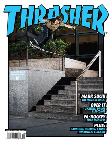Thrasher Cover - 8/1/2019