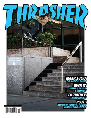 Thrasher Magazine | 8/2019 Cover