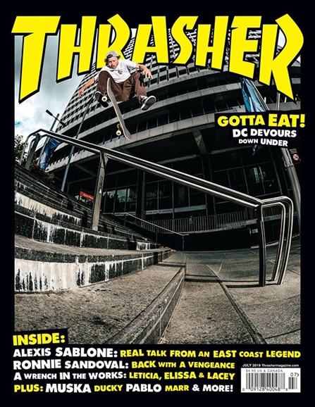 Thrasher Cover - 7/1/2019