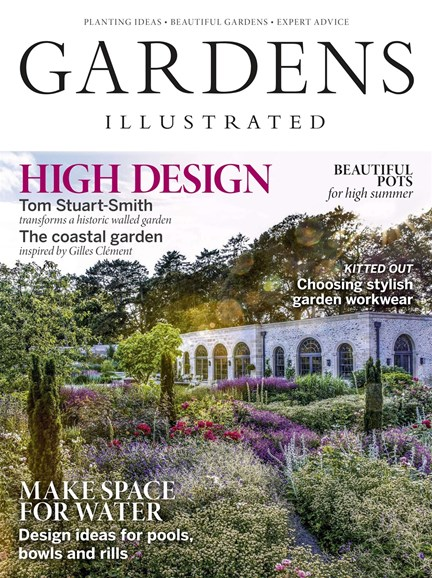 Gardens Illustrated Cover - 7/1/2019