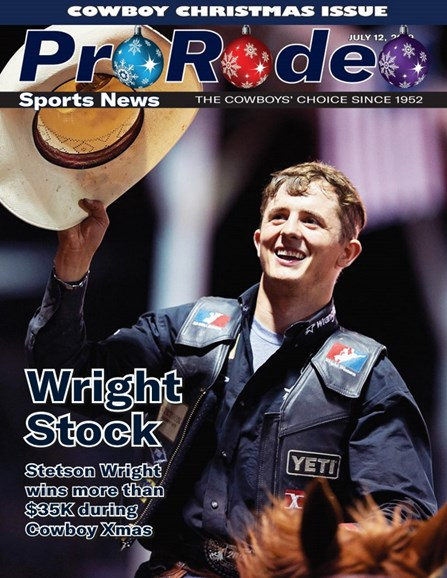 Pro Rodeo Sports News Cover - 7/12/2019