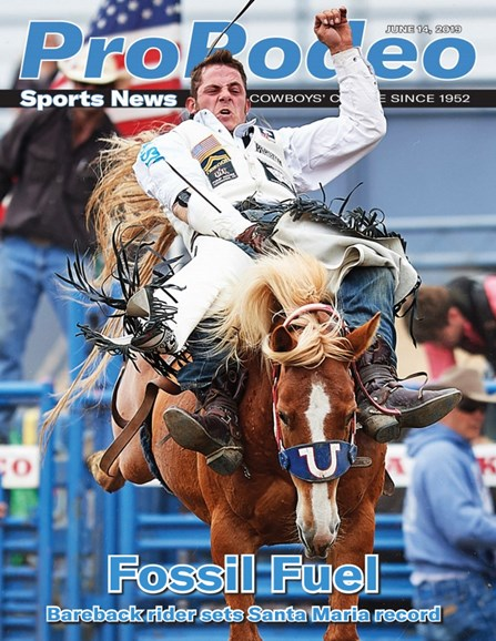 Pro Rodeo Sports News Cover - 6/14/2019