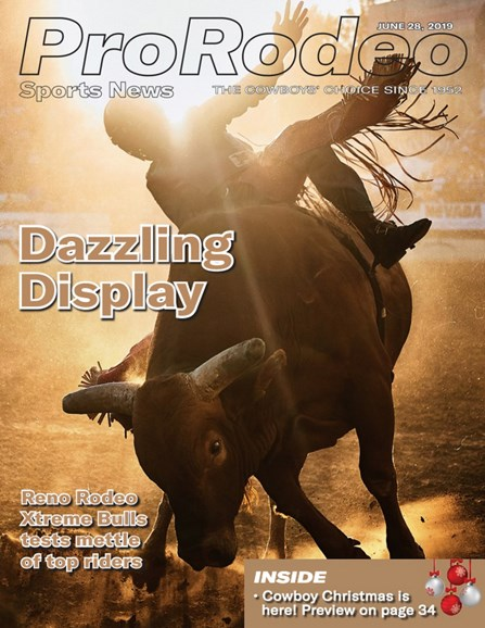 Pro Rodeo Sports News Cover - 6/28/2019