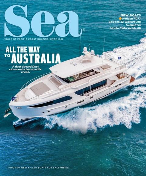 Sea Magazine Cover - 8/1/2019