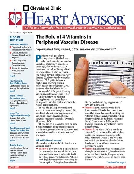 Heart Advisor Cover - 4/1/2019
