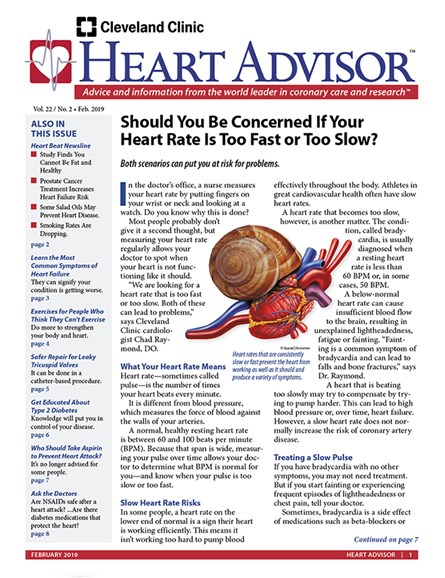 Heart Advisor Cover - 2/1/2019