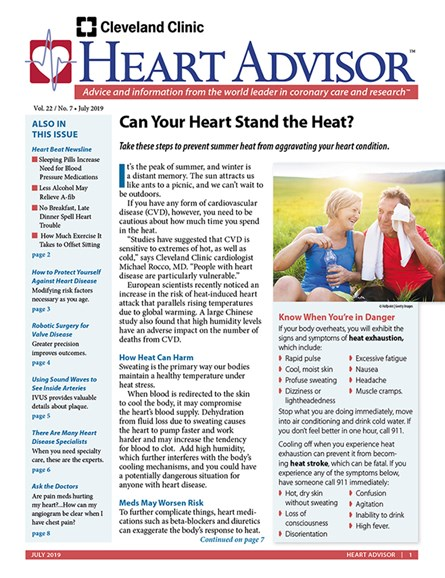Heart Advisor Cover - 7/1/2019