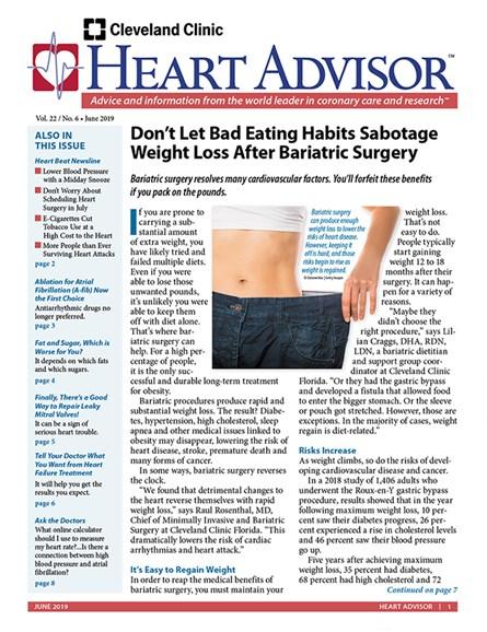 Heart Advisor Cover - 6/1/2019