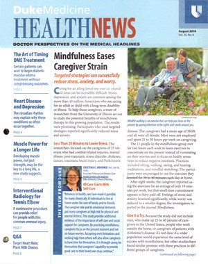 Health News Newsletter | 8/2019 Cover