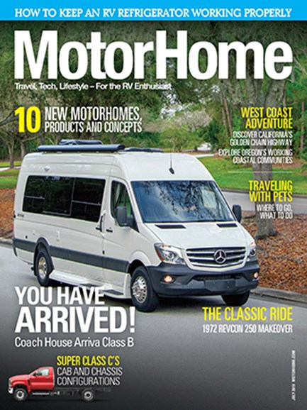 MotorHome Cover - 7/1/2019