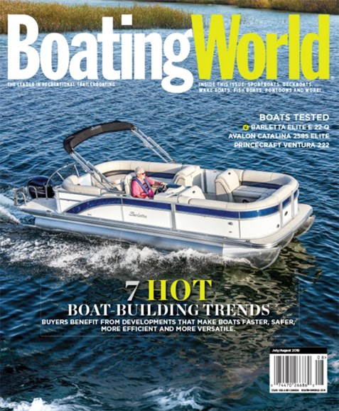 Boating World Cover - 7/1/2019