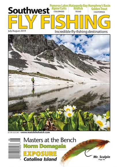 Southwest Fly Fishing Cover - 7/1/2019