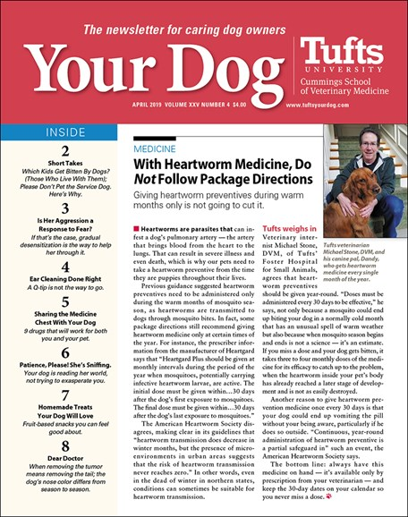 Your Dog Cover - 4/1/2019