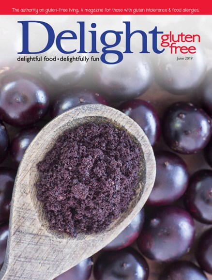 Delight Gluten Free Cover - 6/1/2019
