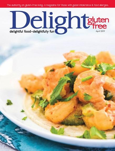 Delight Gluten Free Cover - 4/1/2019