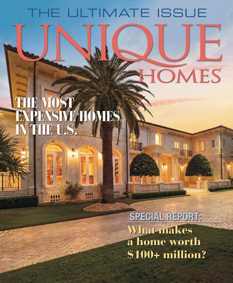 Unique Homes Cover - 6/1/2019