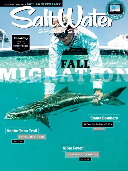 Salt Water Sportsman Cover - 8/1/2019