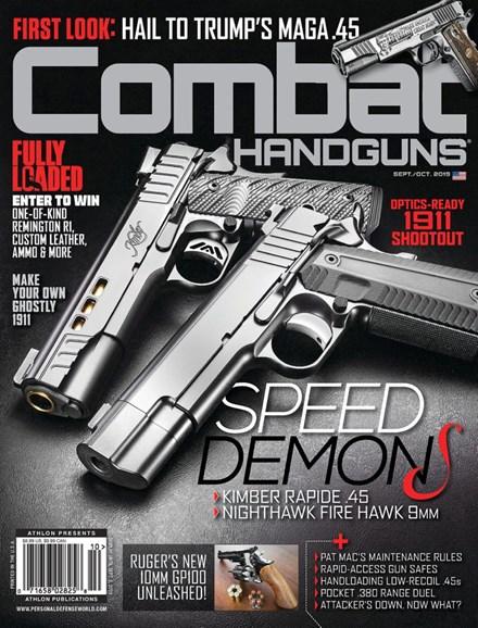 Combat Handguns Cover - 9/1/2019