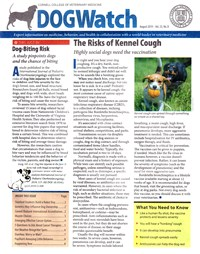Dogwatch Newsletter | 8/2019 Cover