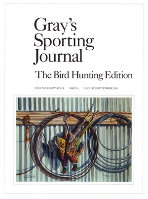 Gray's Sporting Journal Magazine | 8/2019 Cover