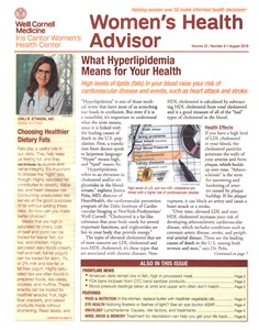 Women's Health Advisor   8/2019 Cover