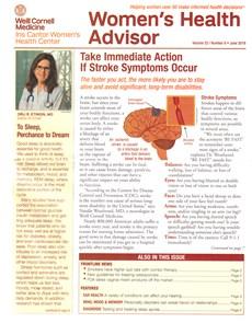 Women's Health Advisor   6/2019 Cover