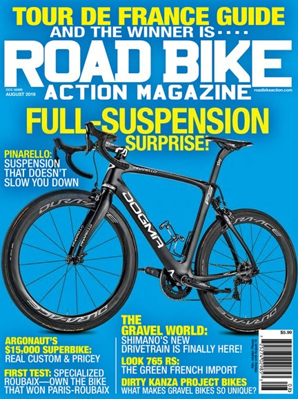 Road Bike Action Cover - 8/1/2019