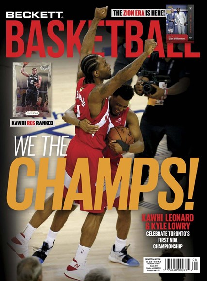 Beckett Basketball Cover - 8/1/2019