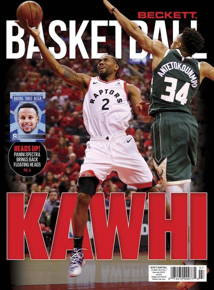 Beckett Basketball Cover - 7/1/2019