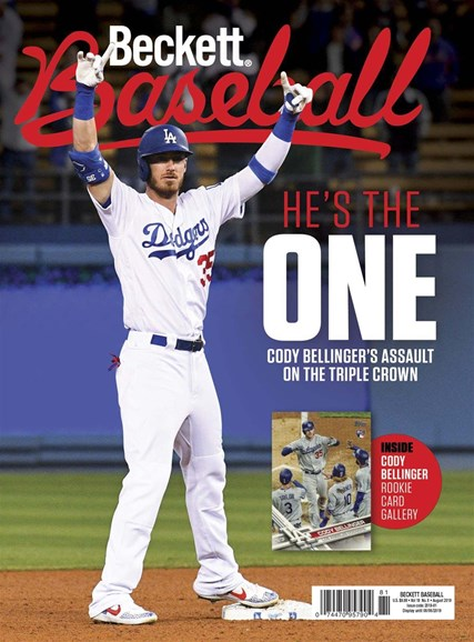 Beckett Baseball Cover - 8/1/2019